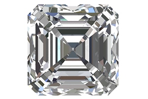 Asscher Cut Certified Diamond