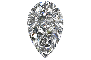 Pear Cut Certified Diamond